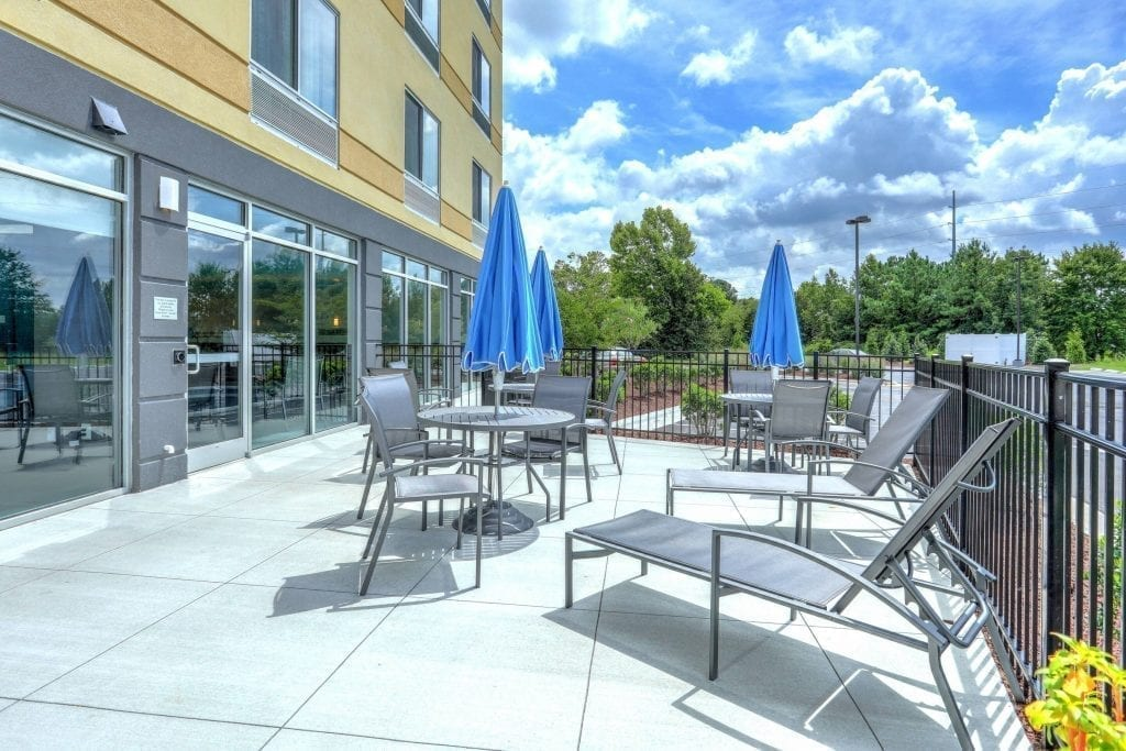 fairfield inn & suites greenville NC hotel Architect