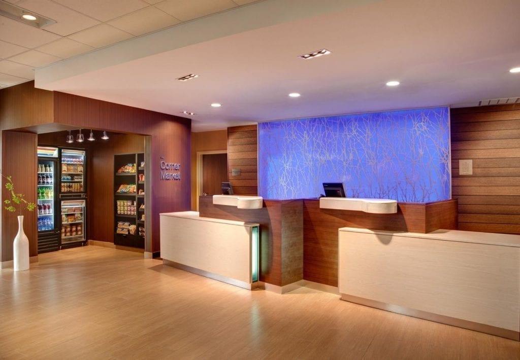 fairfield inn & suites greenville NC hotel Architect
