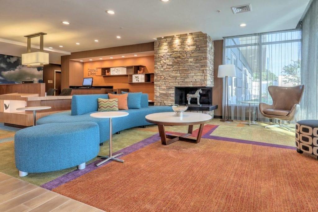 fairfield inn & suites greenville NC hotel design