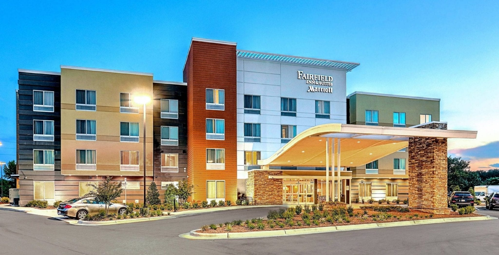Fairfield Inn Suites Greenville NC Architect