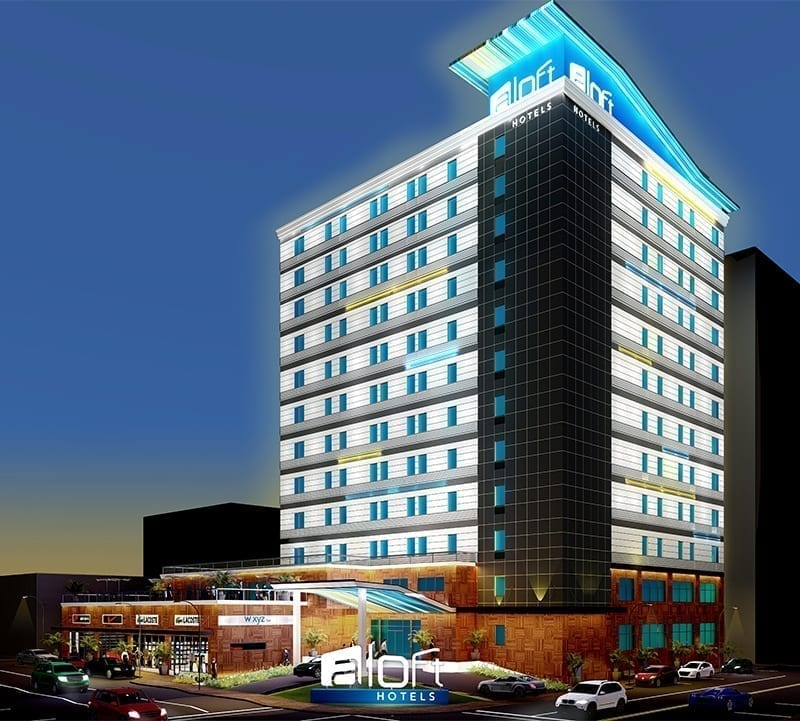 Aloft Hotel, Memphis Tennessee Design