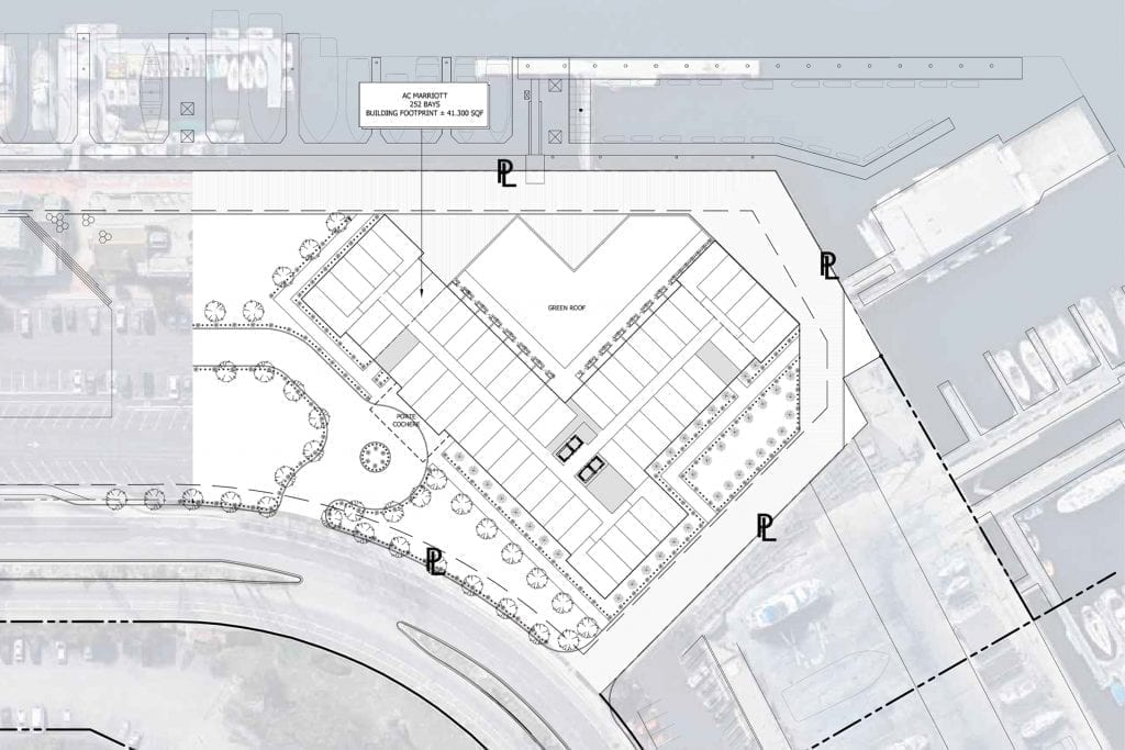 AC Hotel Marina Del Rey California Hotel Siteplan