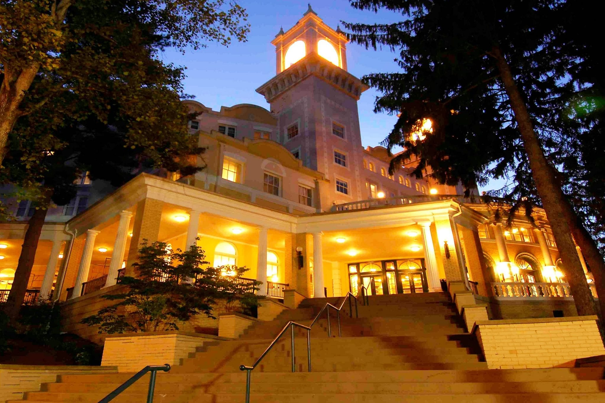 West Baden Hotel Historical Preservation by MWT Hotel & Resort Architect