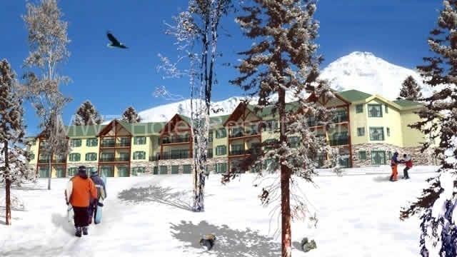 Mountain Edge Ski Resort by MWT Hotel & Resort Architect