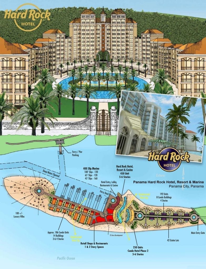 Hard Rock Hotel Project Planning by MWT Hotel & Resort Architect