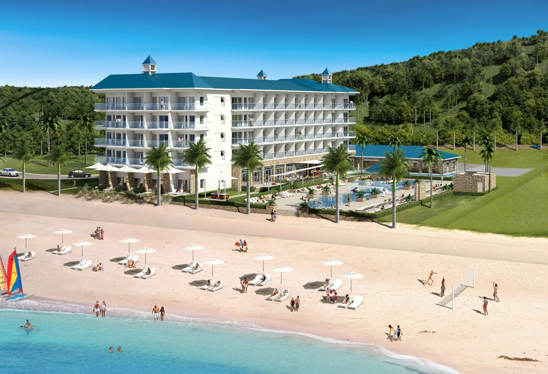 Survivor Beach Resort Samoa - by MWT Hotel & Resort Architect