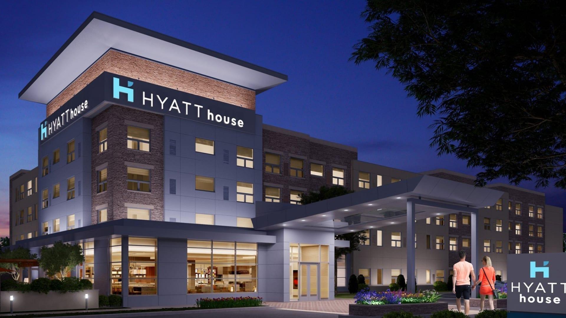 Hyatt House Landscape