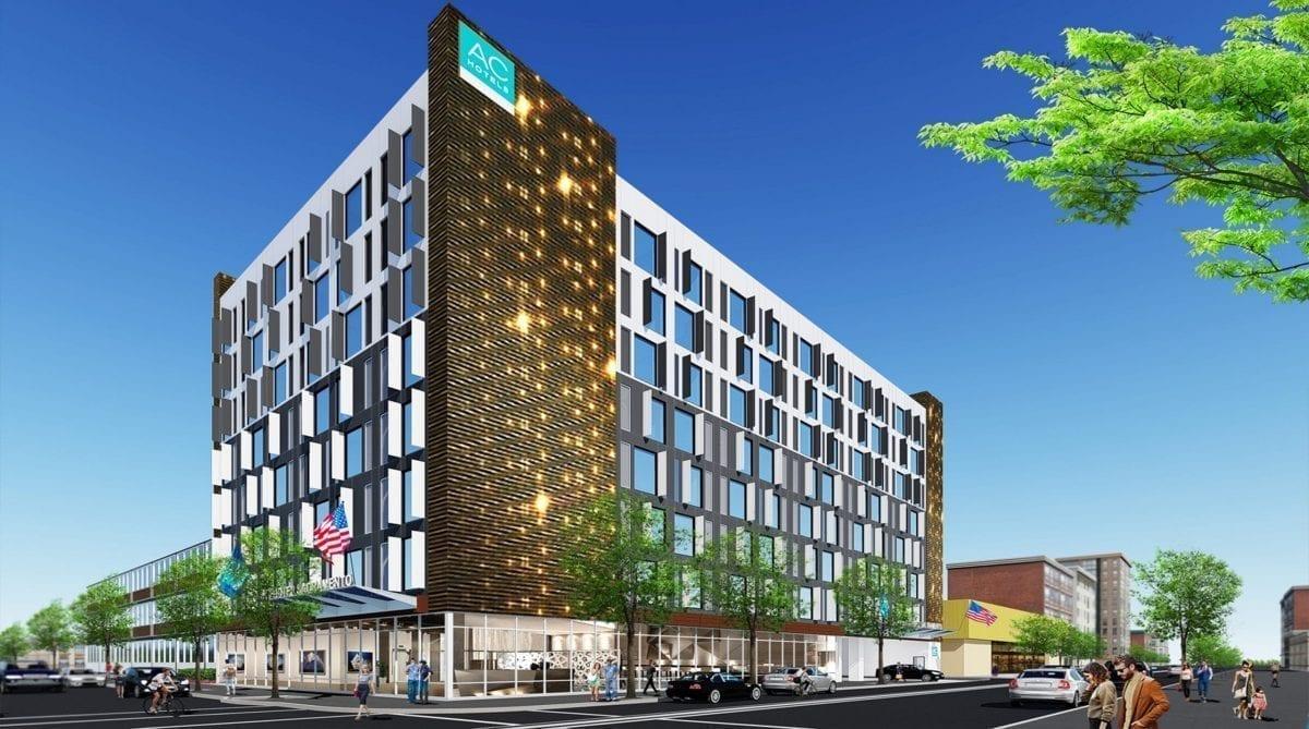 AC Marriott - Facade Design - Sacramento, California